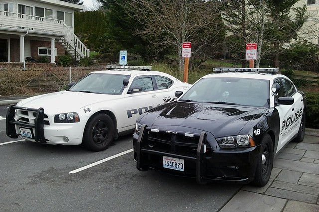Dodge Charger Police Cars - City Of Medina WA