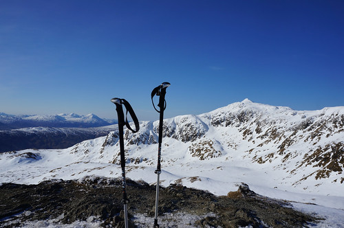 Looking West towards Meall Garbh