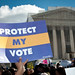 Voting Rights Act Rally at SCOTUS