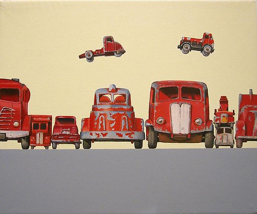 Jeremy Dickinson, Red Truck Race, 2010