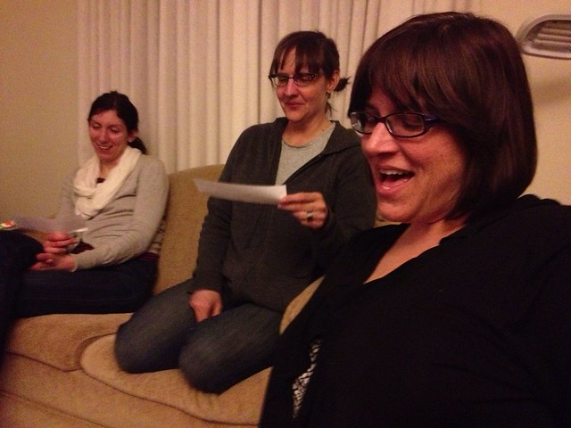 We're ladies. We like to sing. #project365