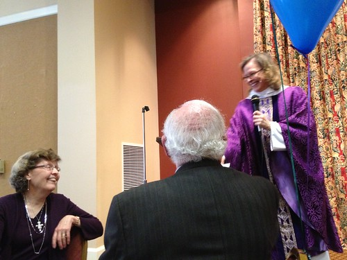 <p>On Sunday, February 24, Ruth and Jesse Mark were honored for their 11 years of service to Church Under the Bridge, Pyramid Minisitries, and Art at the Cathedral.</p>
