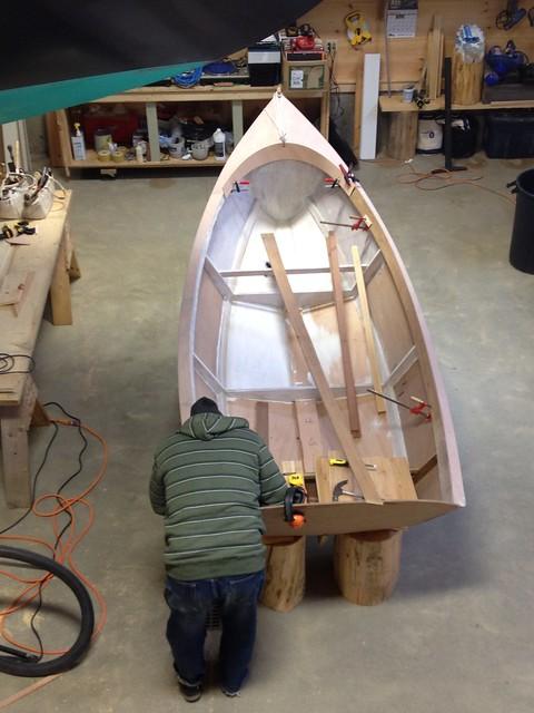 Yawl Boat work