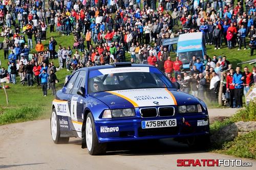 Marcos Diego Vicente Diego BMW Compact F2000 XI Rallysprint de Hoznayo 2013