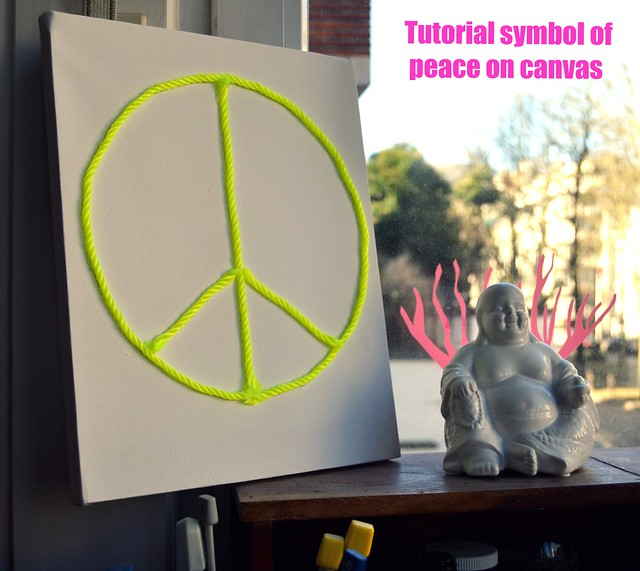 TUTORIAL SYMBOL OF PEACE IN CANVAS