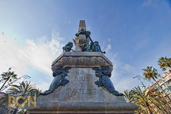 Monument a Rius i Taulet