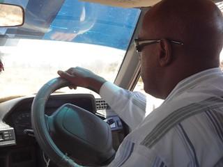 Motorista do taxi