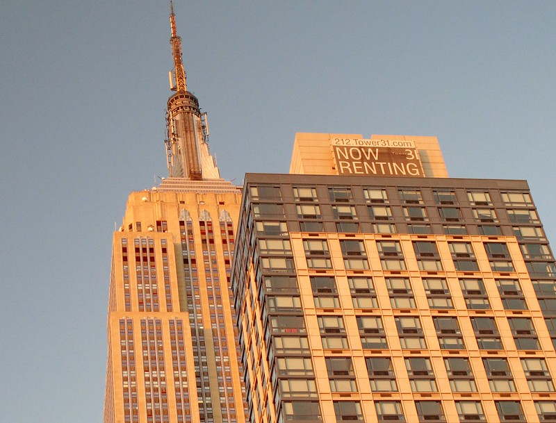 Empire State Building Golden Hour
