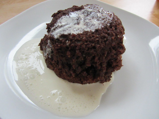 chocolate amaretti pudding