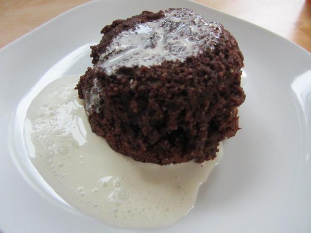 chocolate amaretti pudding