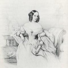 А. К. Воронцова-Дашкова. Литография А. Греведона. 1840