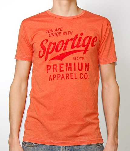 Sportiqe Rucker Orange Neo T-Shirt