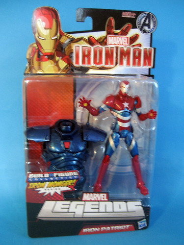 Marvel Legend Iron Man 4 Iron Patriot