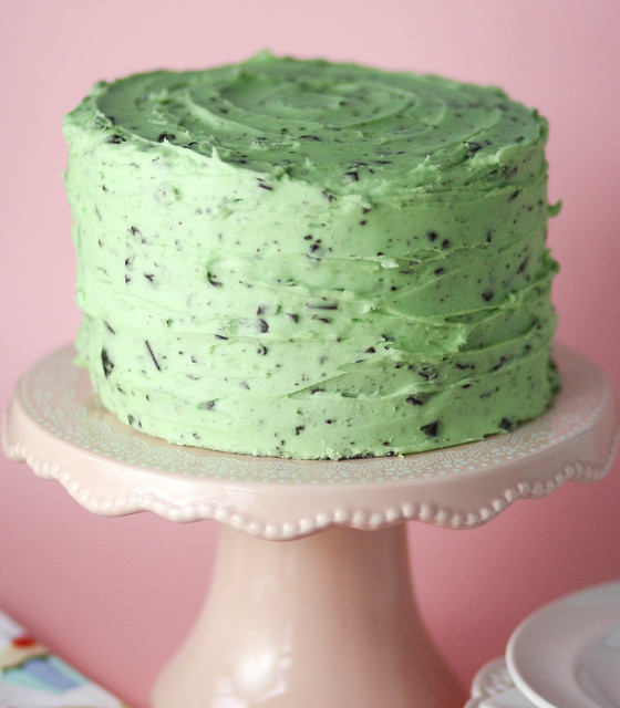 husband's birthday is this week, and mint chocolate chip ice cream ...