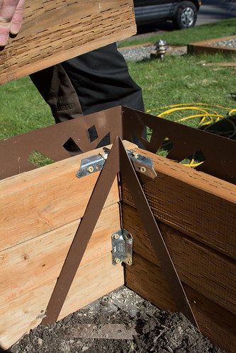 sub-irrigated raised garden bed corners