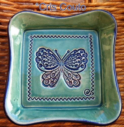 Pratinho borboleta by cris couto 73