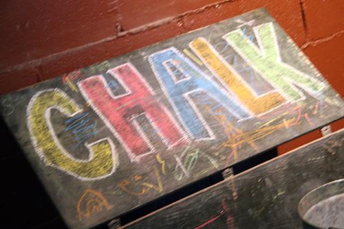 Chalk-Bucket