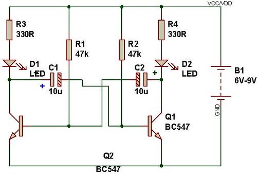 multivibrator module
