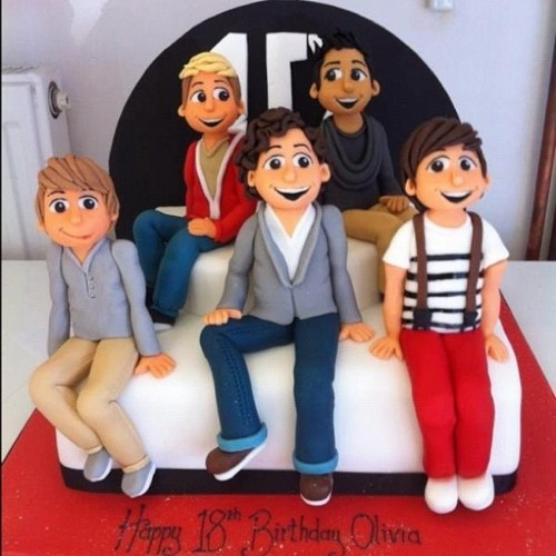 Pasteles de One Direction