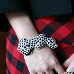 leopard bangle from TJMaxx