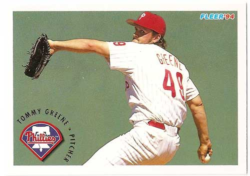 1994 Fleer Tommy Greene