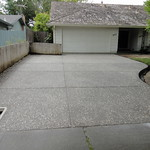 Salt & Pepper Exposed Aggregate Driveway