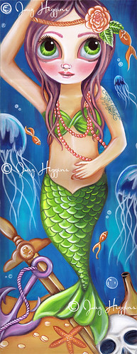 """Siren of the Seabed"" Painting"