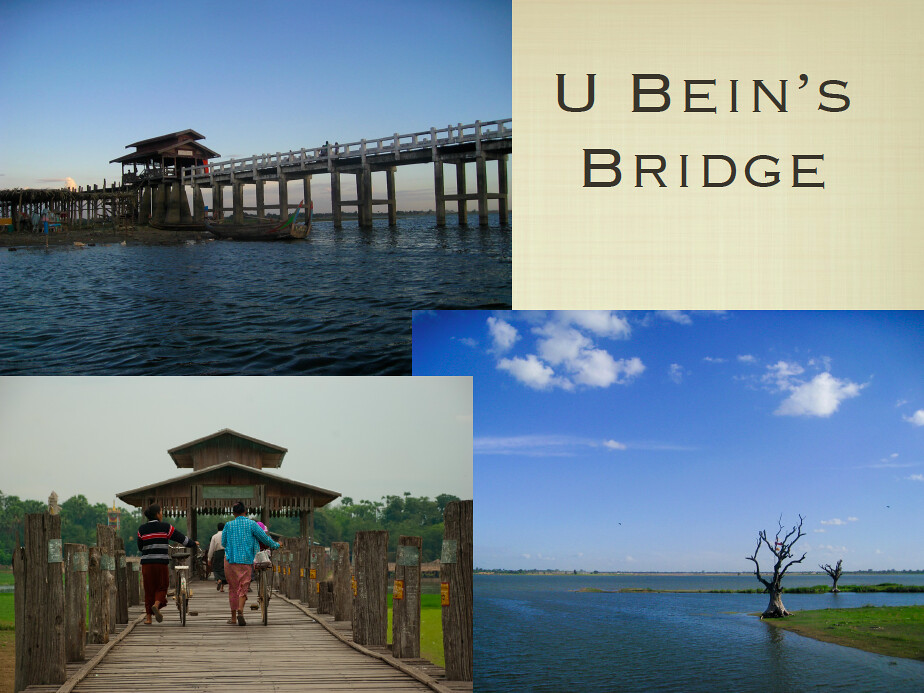 All About Myanmar - U Bein Bridge