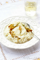 Pecorino risotto with fried artichoke