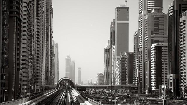 Dubai bw