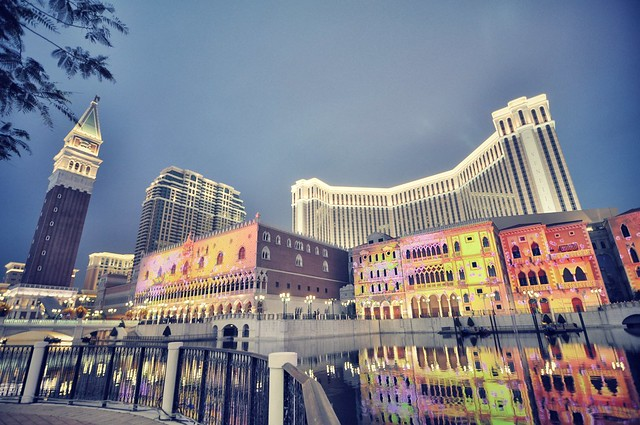 At The Venetian, Macau