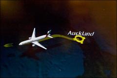 Décollage depuis Auckland