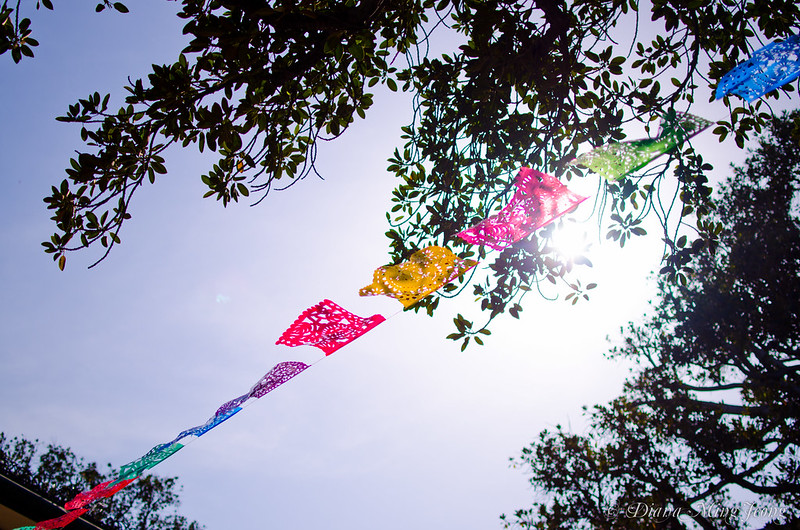 Mexican Prayer Flags | Olvera Street