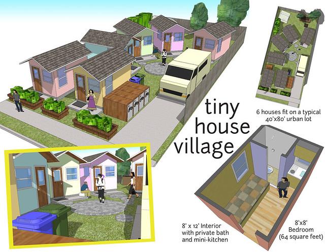 tiny house village Flickr Photo Sharing