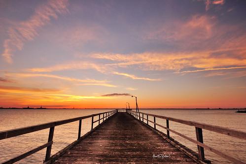 sunset pier chesapeakebay norfolkvirginia sigma1020 willoughbybay leefilters nikond90 leefilters062stopndgradhardedge