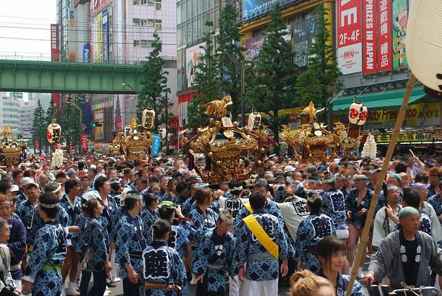神田祭・本祭の様子 2009年