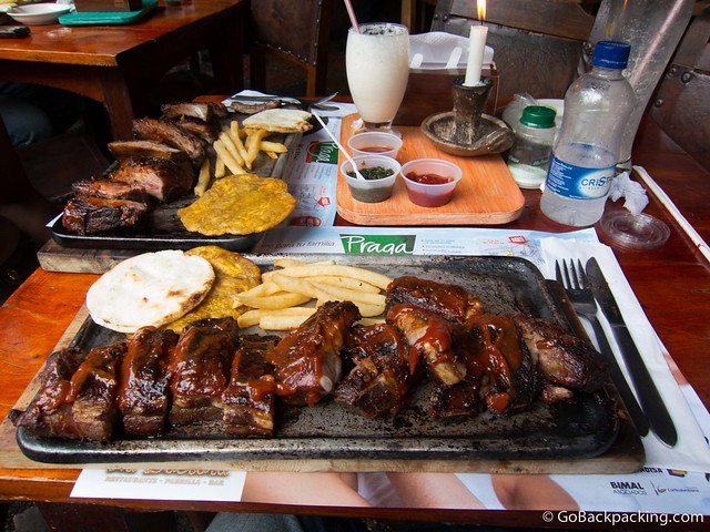 Ribs at La Doctora