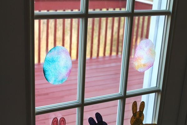 Stained Glass Eggs, 1 (O-13)