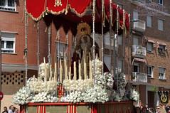Paso de palio Virgen de la Alegría, fotógrafo Manolo García