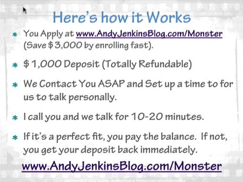 アンディー・ジェンキンス(Andy Jenkins)のウェビナー