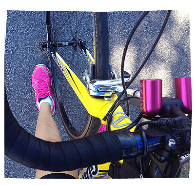 Bike and Pink Shoes