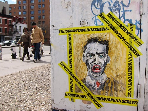 Bowery Wall portrait