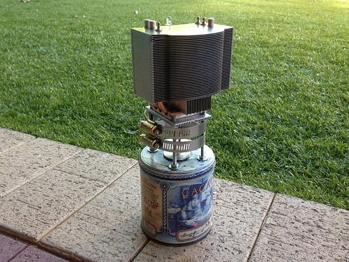 Oil Lamp TEG (Front)