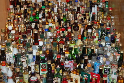 Liquor Bottles, Photo by Scott Felsdstein/Wikimedia Commons