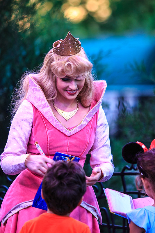 Princess Aurora Greeting Her Fans