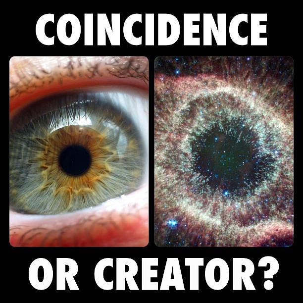 The Human Eye & Helix Nebula   Flickr - Photo Sharing!