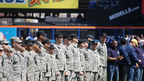 New York Guard Honored at Citi Field