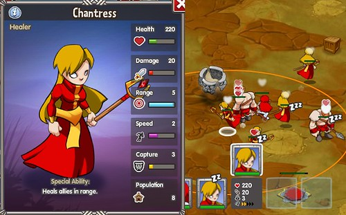 chantress ingame