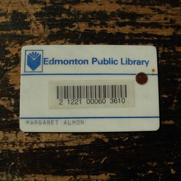 Edmonton public library card c 1982 flickr photo sharing
