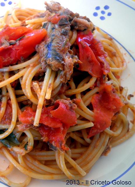 Spaghetti agli sgombri (1)